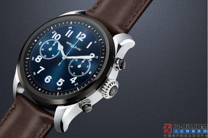 万宝龙推出SUMMIT 2系列智能腕表