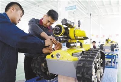 特种机器人泰安投产