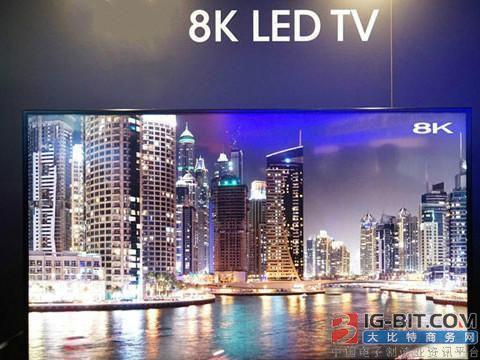 2019年全球8K电视出货量将突破40万台