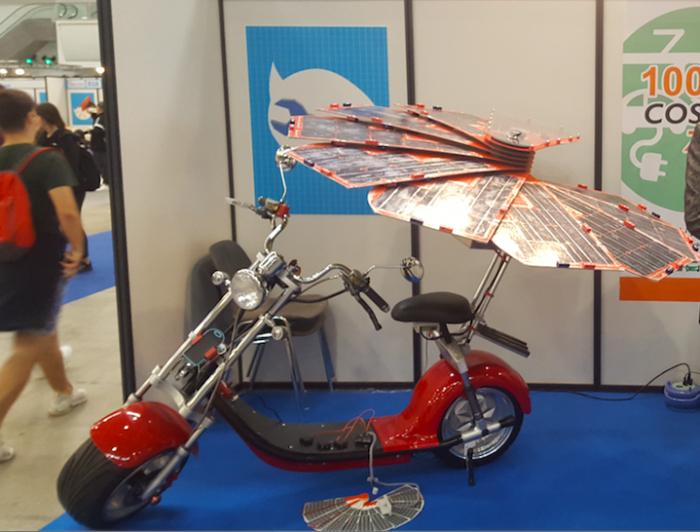 意大利团队研发新型电动车太阳能充电器