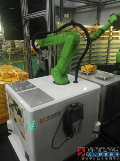 安吉智能与发那科联合研发AGV协作机器人