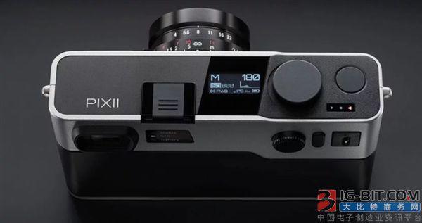 """法国初创公司发布""""真正的旁轴相机""""机背无显示屏"""