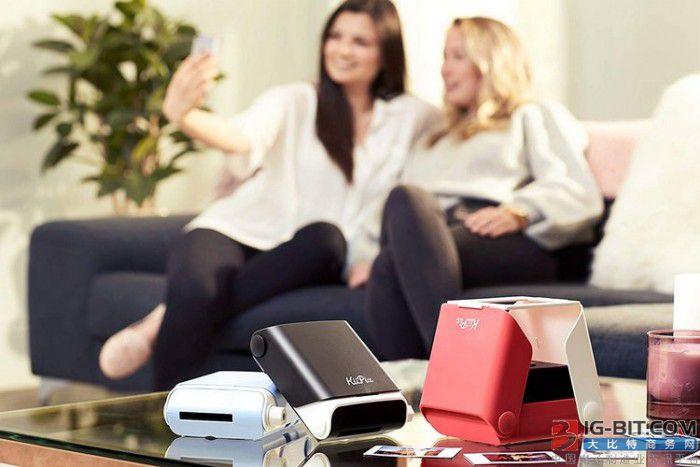 不需要电池的智能手机即时照片打印机