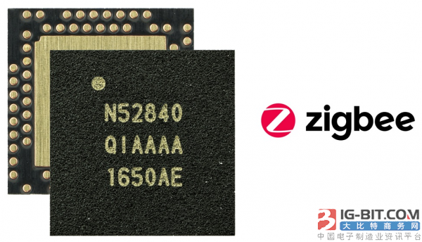 Nordic nRF52840多协议SoC和支持开发套件获认证为Zigbee兼容平台