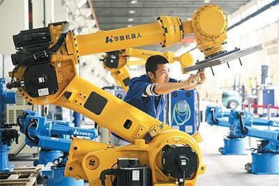 """佛山工业机器人产业""""竞合江湖"""":站在巨头的肩膀上"""