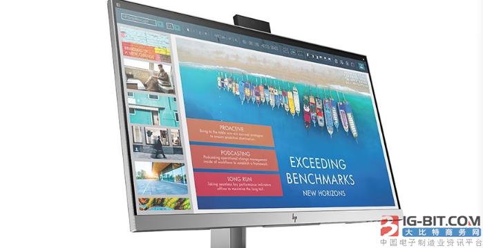 惠普推出EliteDisplay E243d显示器