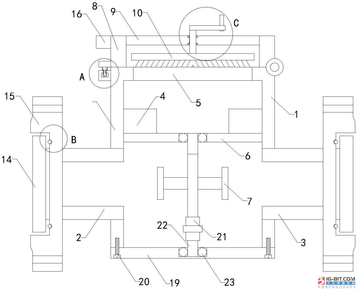 【仪表专利】一种防冻智能水表