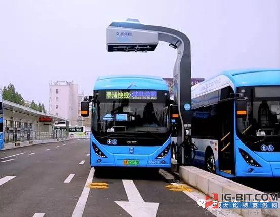 特来电充电弓技术已在上海和成都等地投入使用