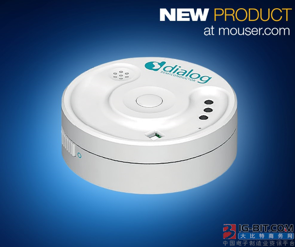 Dialog SmartBond多传感器套件在贸泽开售
