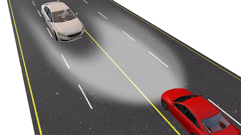使用TI DLP®技术设计高分辨率自适应前照灯