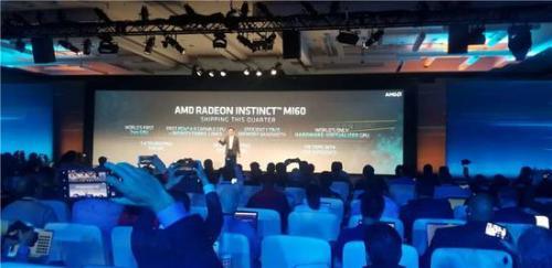 AMD正式发布首款7nm GPU,性能倍升