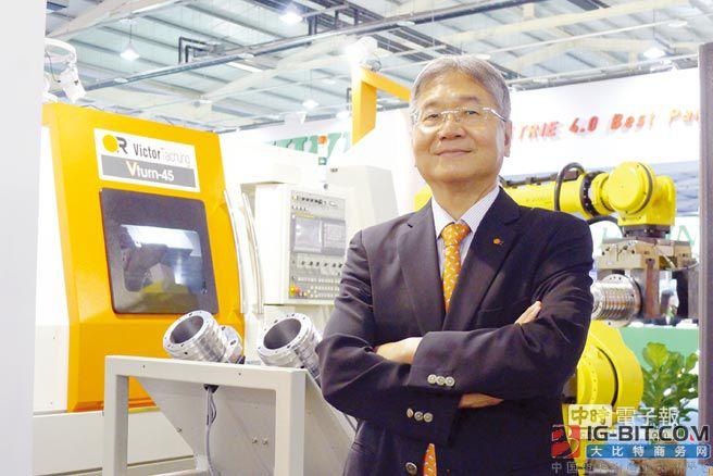 台中精机展出8套自动化生产线