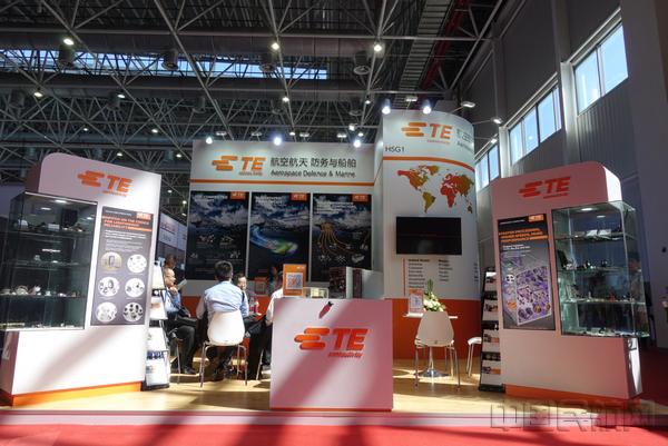 泰科电子携最新电气互联解决方案亮相中国航展
