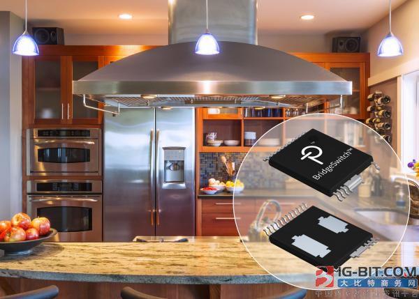 Power Integrations发布效率达98.5%的高压BLDC电机驱动器IC产品系列