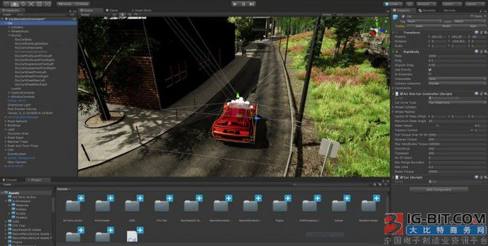 微软推出AirSim on Unity 用AI模型更安全地培训自动驾驶