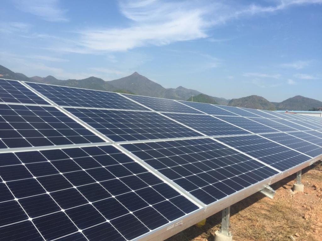 韩华新能源再获中广核100MW光伏组件订单