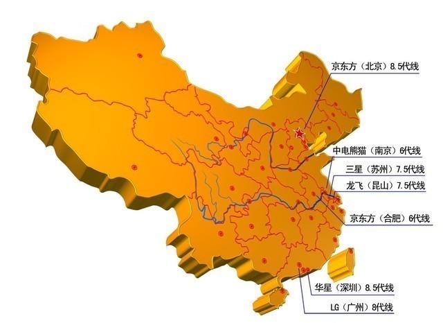 从追赶到碾压 中国面板产业将全面反超韩国?