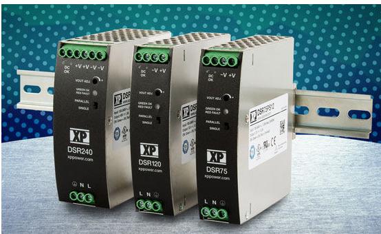 XP Power推出超薄低价格DIN导轨电源