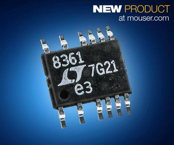 Analog Devices多功能LT8361 DC-DC转换器在贸泽开售                升压/SEPIC/反相器三种配置任你选