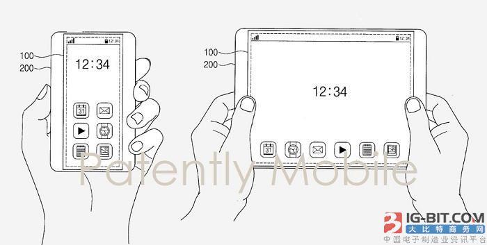 手机金箍棒诞生!三星公布全新屏幕专利