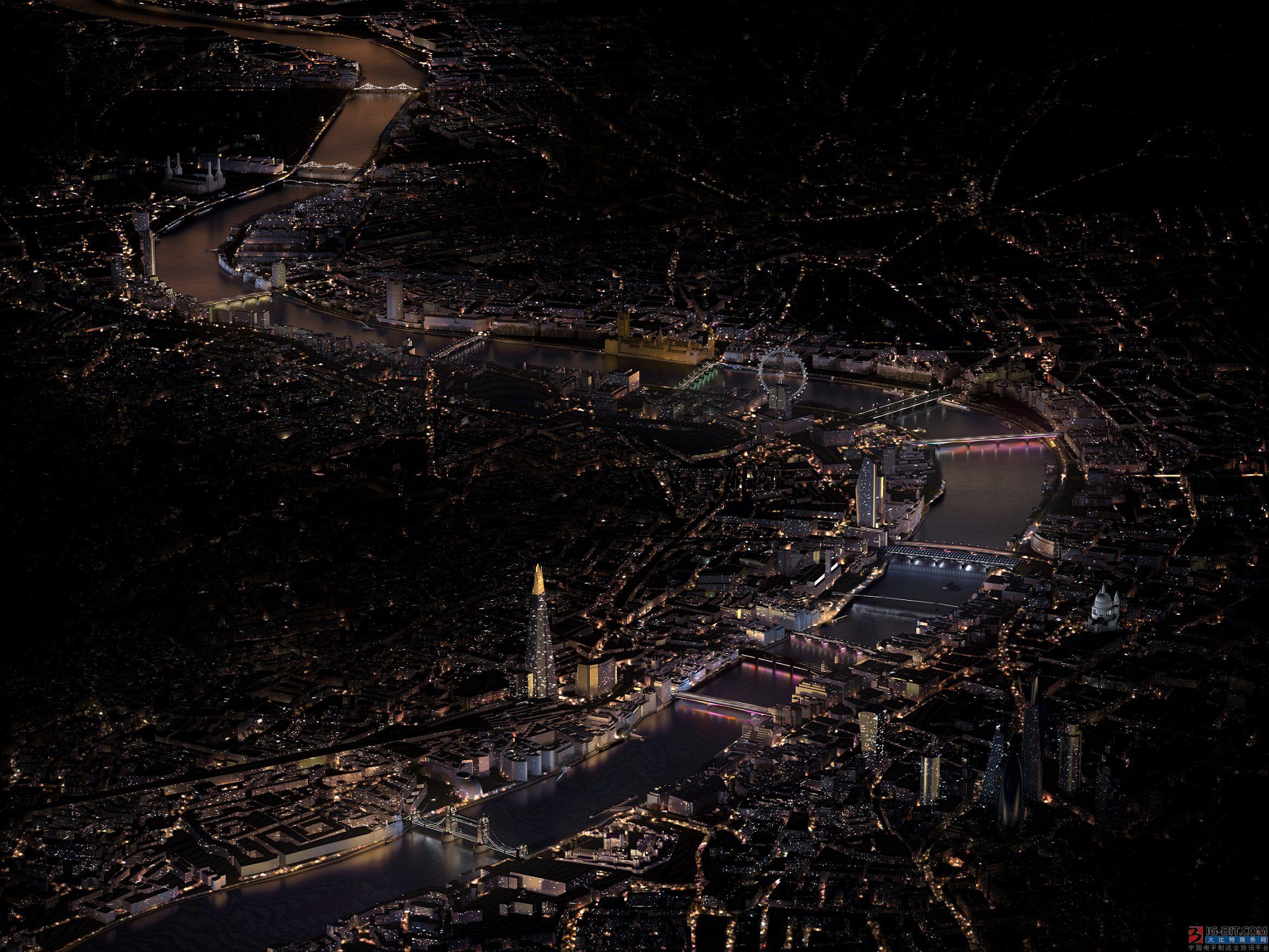 昕诺飞将点亮伦敦15座标志性桥梁 助力打造全球最长公共艺术作品
