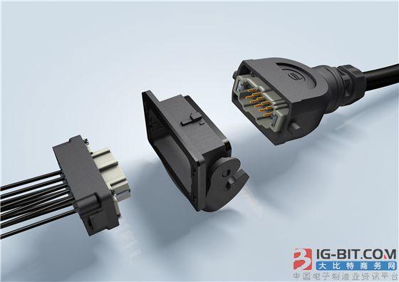 浩亭优化Han-Eco B连接器,适用于苛刻工业环境