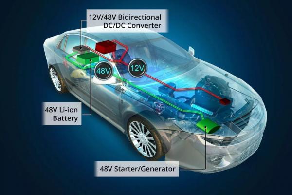"""碳排放""""紧箍咒""""迫使车企紧急上马48V系统   电感器设计存挑战"""