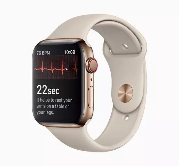 苹果手表心电图功能正式开通