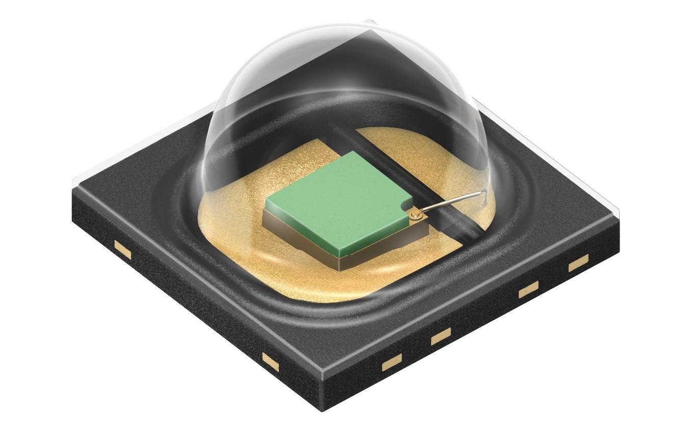 欧司朗推出了新款 Oslon Black SFH 4736 近红外 LED (NIRED)