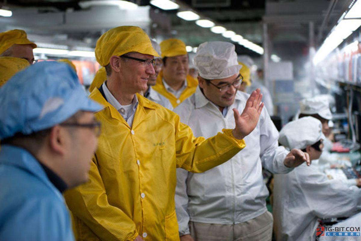 若关税加至 25% 供应链考虑将iPhone产线移出中国