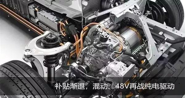 补贴渐退,混动、48V再战纯电驱动,谁更胜一筹?