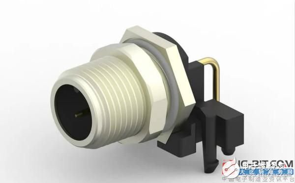 TE推出M8/M12面板安装连接器系统 主要面向机器工业自动化和控制应用