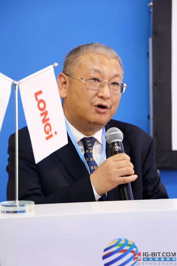 """隆基总裁李振国:十年内""""光伏+储能""""将成为最便宜的能源"""