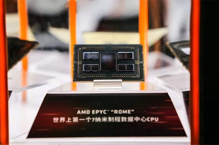 AMD 7nm 64核罗马处理器再获超算订单,20万核6400万亿次性能