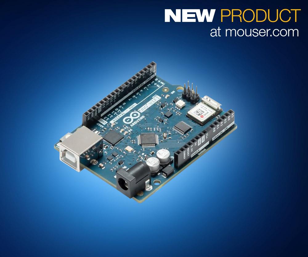 新版Arduino Uno WiFi Rev 2在贸泽开售