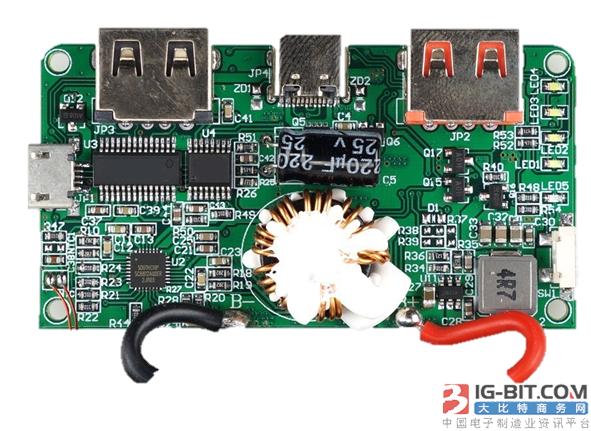 士兰微电子全系列快充方案解决电池续航烦恼 --移动电源快充解决方案
