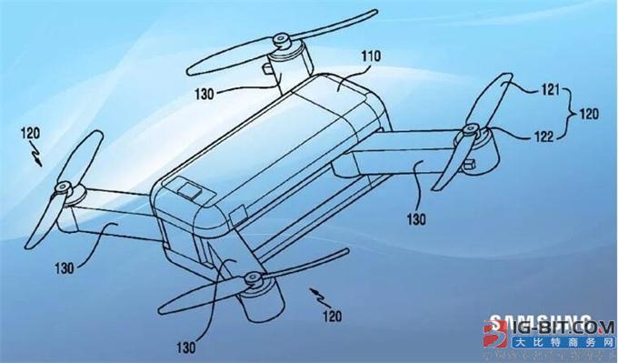 三星已申请16项无人机新专利!