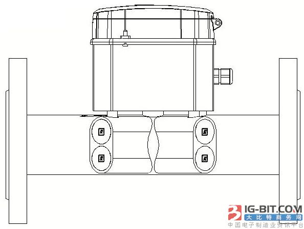 【仪表专利】一种超声水表、流量计、热量表结构