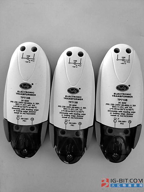 拱北海关截获侵权LED驱动1841个