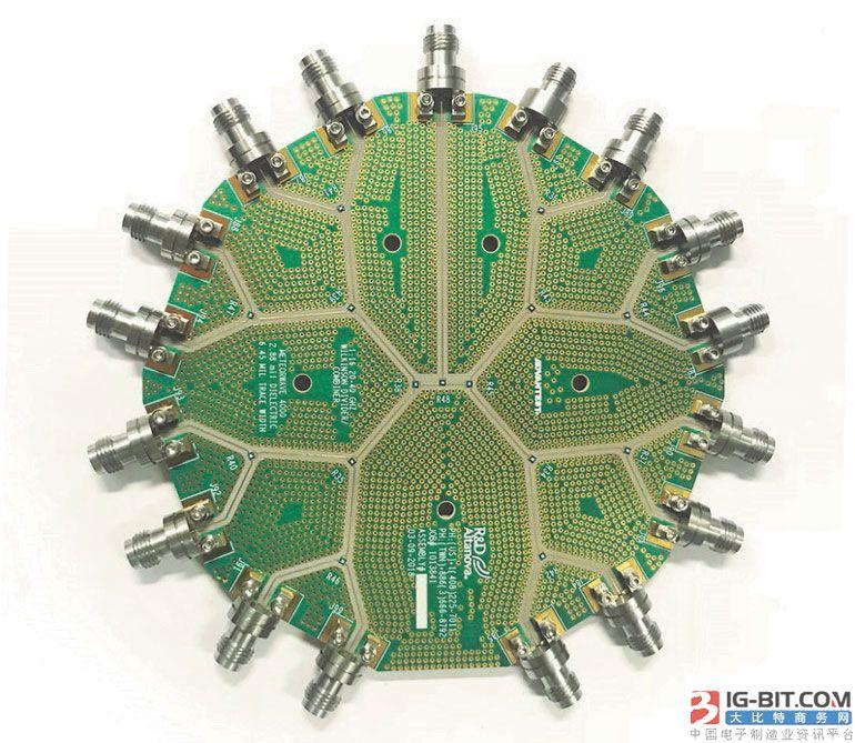 电路板边缘 2.92毫米接口的40 GHz连接器