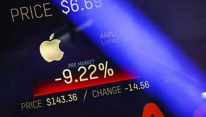 """苹果市值缩水4300亿美元   削减产能""""拖累""""众磁企"""
