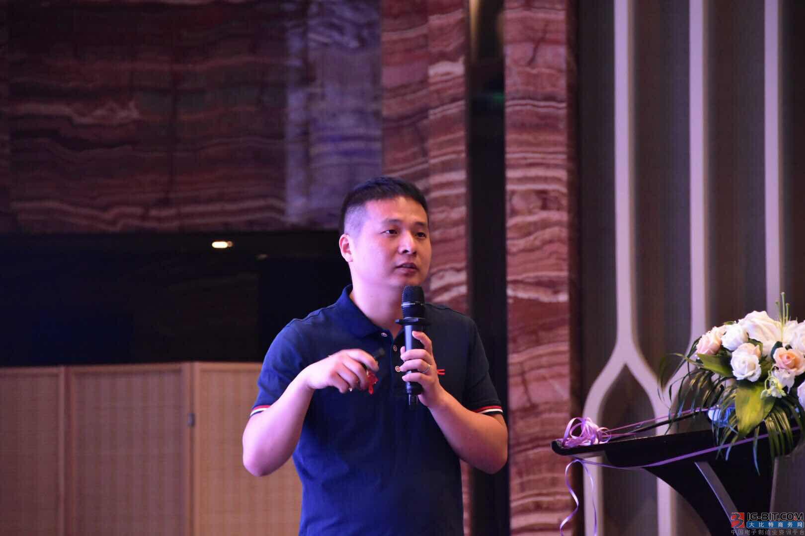 杭州士蘭微電子股份有限公司的高級技術市場經理林星宇