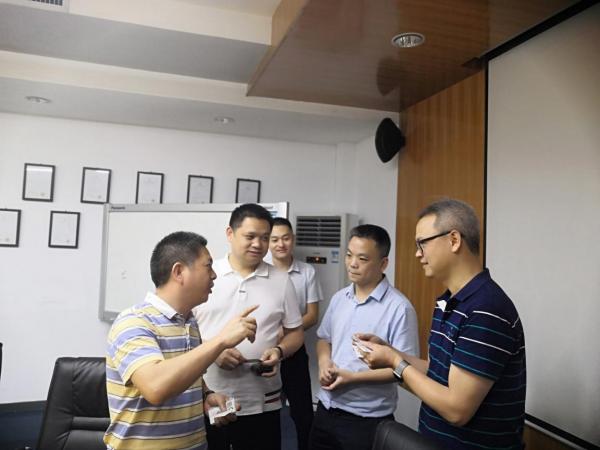 深圳市連接器行業協會第24次會員交流活動在萊爾德電子材料(深圳)有限公司舉行