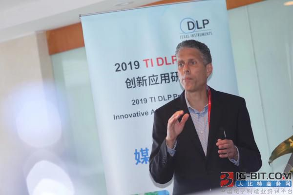 德州仪器(TI) DLP Pico™产品总经理Frank Moizio