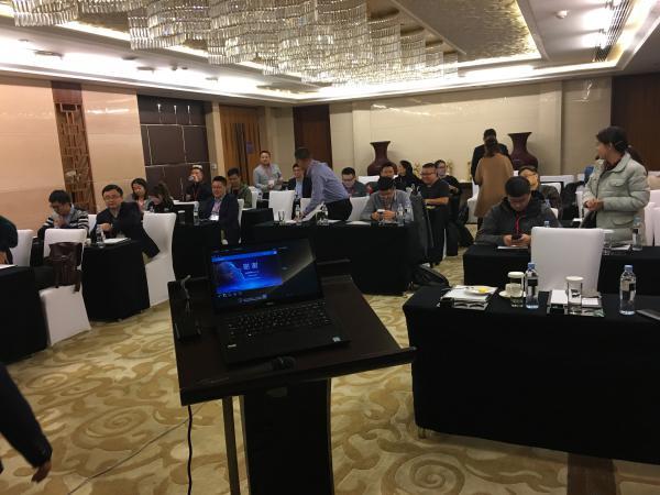 大比特:新技術產品的布道者  受邀出席是德科技分銷商培訓會