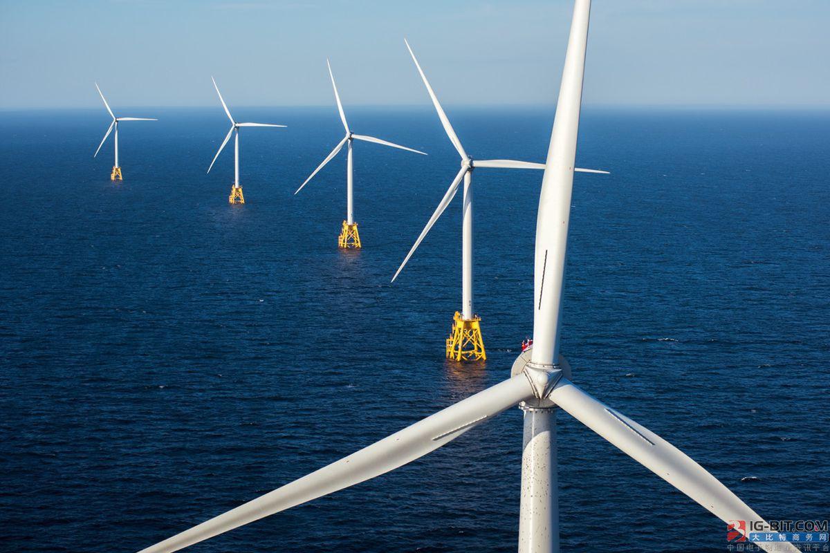 截止2019歐洲海上風電裝機容量累計超22GW
