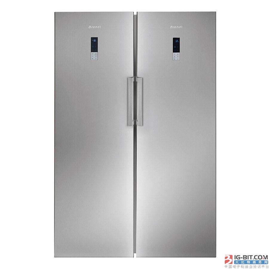 西門子推出纖薄款對開門冰箱