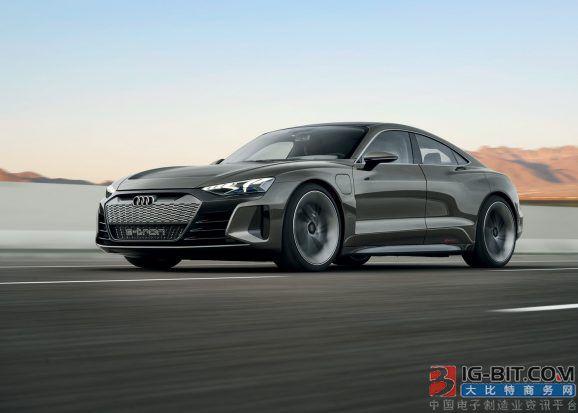 奧(ao)迪e-tron GT量產版曝光0-100km/h加速時(shi)間僅為(wei)3.5s極速可達240km/h