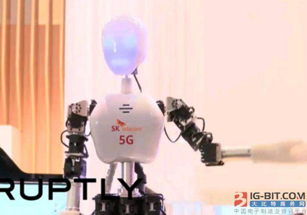5G网络建设80%:5G机器人即将迎来新转机