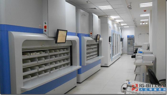 乾隆国际无人智能移动药房成套设备捐赠仪式在黄冈市大别山区域医疗中心举行